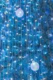 Boule ornementale de lumière électrique Images libres de droits