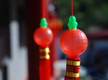 Boule rouge Photos libres de droits
