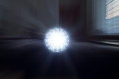 Boule rougeoyante Photo libre de droits