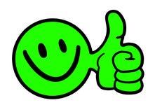 Boule verte Image libre de droits