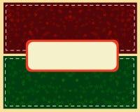 Boule verte abstraite de Noël cutted du papier sur le fond illustration de vecteur