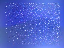 Boules colorées de confettis, 3d illustration stock