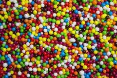 Boules comestibles colorées photo libre de droits