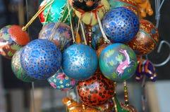 Boules décoratives Photos stock