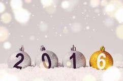 Boules décoratives de Noël Photos libres de droits