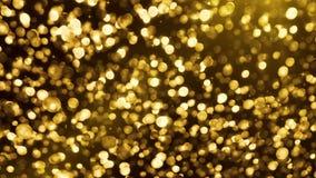 Boules d'or  banque de vidéos