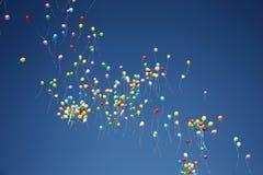 Boules dans le ciel Photographie stock libre de droits