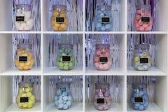 Boules de bain moussant Images stock