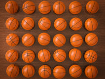 Boules de basket-ball illustration libre de droits