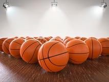 Boules de basket-ball Image stock