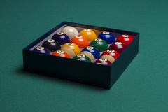 Boules de billard Photo libre de droits