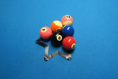 Boules de billard Images stock