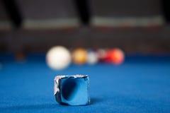 Boules de billard/photo de style de vintage des boules de billard dedans Images libres de droits