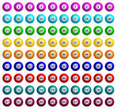 Boules de bingo-test illustration libre de droits