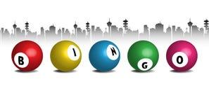 Boules de bingo-test Images libres de droits