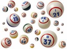 Boules de bingo-test image libre de droits