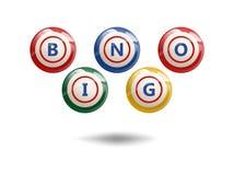 Boules de bingo-test de vol Photo stock