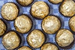 Boules de bonbons au chocolat Image libre de droits
