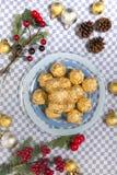 Boules de bonbons au chocolat Photographie stock libre de droits