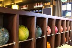 Boules de bowling Photographie stock libre de droits