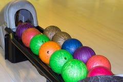 Boules de bowling Images libres de droits