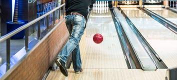 Boules de bowling Photos libres de droits