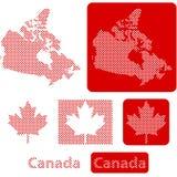 Boules de Canada illustration de vecteur