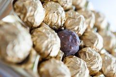 Boules de canne de sucrerie Image stock
