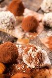 Boules de Choco Image libre de droits