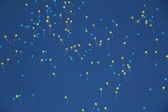 Boules de ciel, perles photographie stock