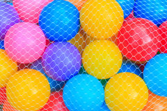 Boules de couleur pour l'amusement de jeu Photographie stock