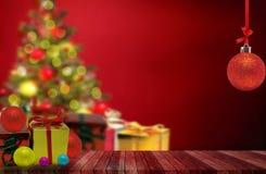 Boules de couleurs pour l'arbre de Noël Images stock