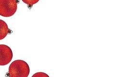Boules de couleurs pour l'arbre de Noël photo stock