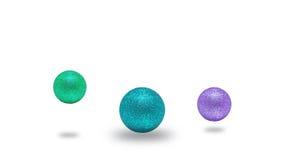 Boules de couleurs pour l'arbre de Noël photos libres de droits