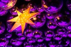 Boules de disco de boîte de nuit Images libres de droits