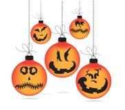 Boules de fantôme de Halloween Photos libres de droits