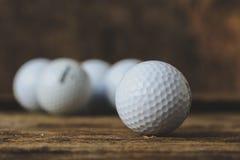 Boules de golf Images stock