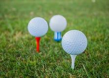 Boules de golf Photographie stock