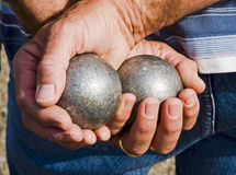 boules de jeu petanque Στοκ Εικόνα