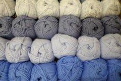 Boules de laine Image stock