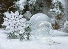 Boules de Noël Photographie stock