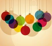 Boules de Noël Image stock