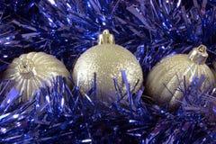 Boules 01 de Noël photographie stock libre de droits