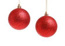 Boules de Noël Image libre de droits