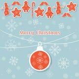 Boules de Noël et fond de vintage de décoration de Noël rétro Photographie stock libre de droits