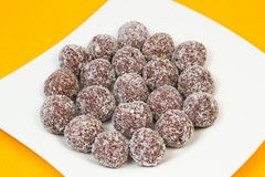 Boules de noix de coco Photographie stock