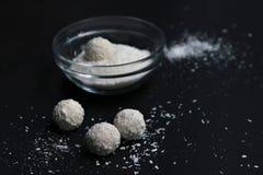 Boules de noix de coco Photo libre de droits