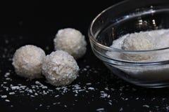 Boules de noix de coco Image stock