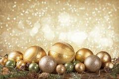 Boules de Noël de Noël Photos libres de droits