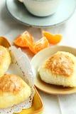 Boules de riz de beurre d'arachide Photo libre de droits